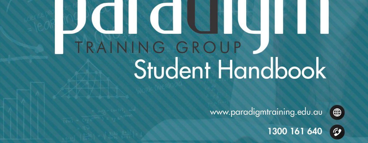 Paradigm Training Group - Student Handbook Cover